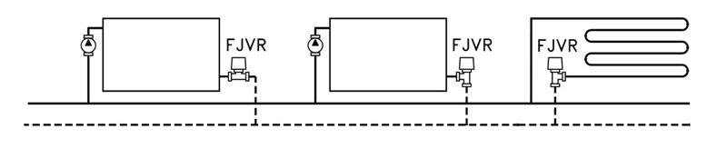 схема применения клапана