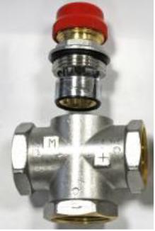 T.MR01. VALTEC Трехходовой термостатический смесительный клапан