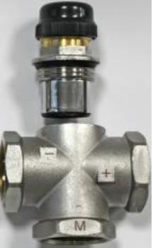 VALTEC VT.MR02 Трехходовой термостатический смесительный клапан