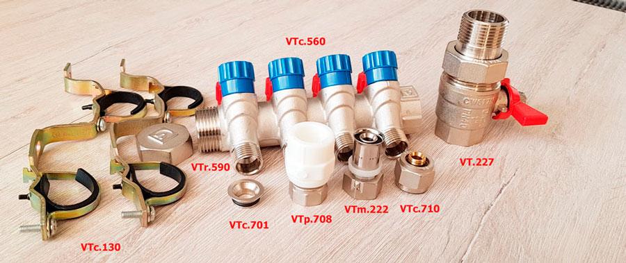 Коллектор отопления VTc.560.N