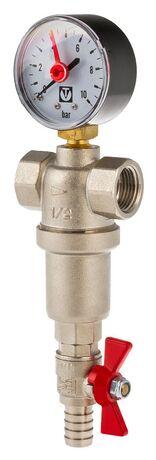 Фильтр механической очистки самопромывной каскадный VT.389. VALTEC