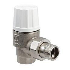 VT.033. VALTEC Клапан термостатический повышенной пропускной способности угловой