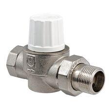 VT.034. VALTEC Клапан термостатический повышенной пропускной способности прямой