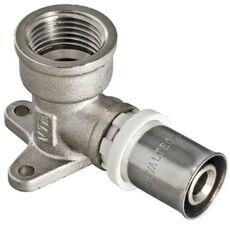 VTm.254. VALTEC Пресс-фитинг - угольник с креплением
