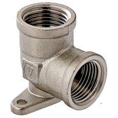VTr.751. VALTEC Фитинг резьбовой – угольник с креплением (водорозетка)
