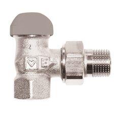HERZ Термостатический клапан для однотрубных систем, угловой