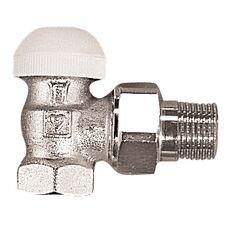HERZ Термостатический клапан без функции преднастройки, угловой