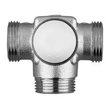 HERZ Calis TS E 3D Термостатический клапан для однотрубных систем