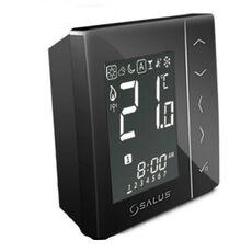 Salus беспроводной, цифровой термостат VS20RF черный  - Фото 1