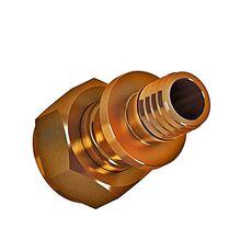 Натяжной фитинг Golan Aqua-pex переходник с накидной гайкой