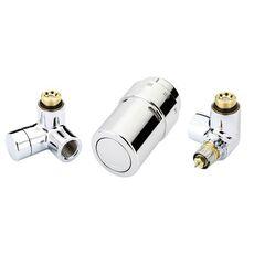 DANFOSS Комплект RAX-set для подключения к радиаторам хром