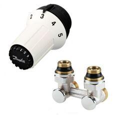 DANFOSS Комплект радиаторный угловой RLV-KS + RAS-C