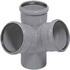 Крестовина канализации двухплоскостная Magnaplast HTplus