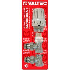 VT.045. VALTEC Комплект терморегулиующего оборудования для радиатора угловой