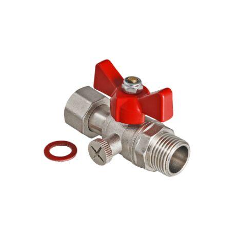 VT.806. VALTEC Кран шаровой для подключения манометра