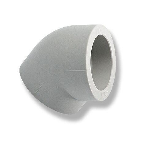 Уголок (колено) 45° Ekoplastik