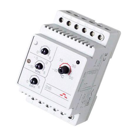 DEVI Терморегуляторы электронные на шину DIN DEVIreg 316