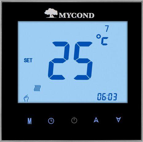 Mycond комнатный термостат TRF-B2F черный - ФОТО 2