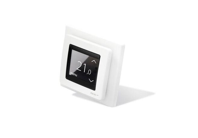 DEVI Терморегулятор DEVIreg Touch белый